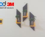 Dán Khung Gỗ lên tường bằng Băng Keo 3M 5962