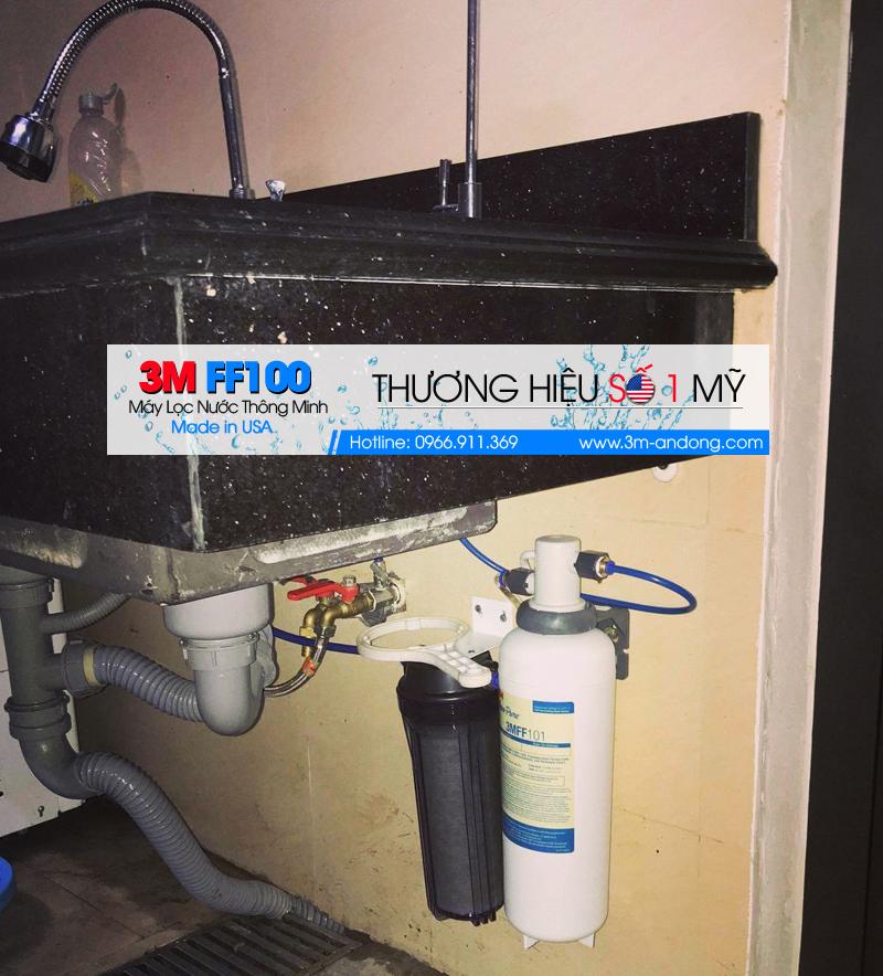 Lắp đặt Máy lọc nước 3M cho APA Hotel Bắc Ninh