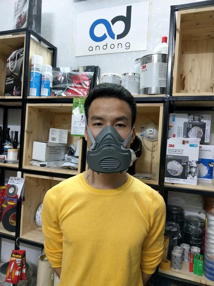Mặt nạ 3M chống bụi, khói hàn, hơi hữu cơ