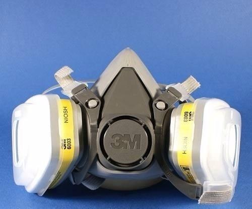Mặt nạ phòng độc 3M 6200 sử dụng phin lọc 6003